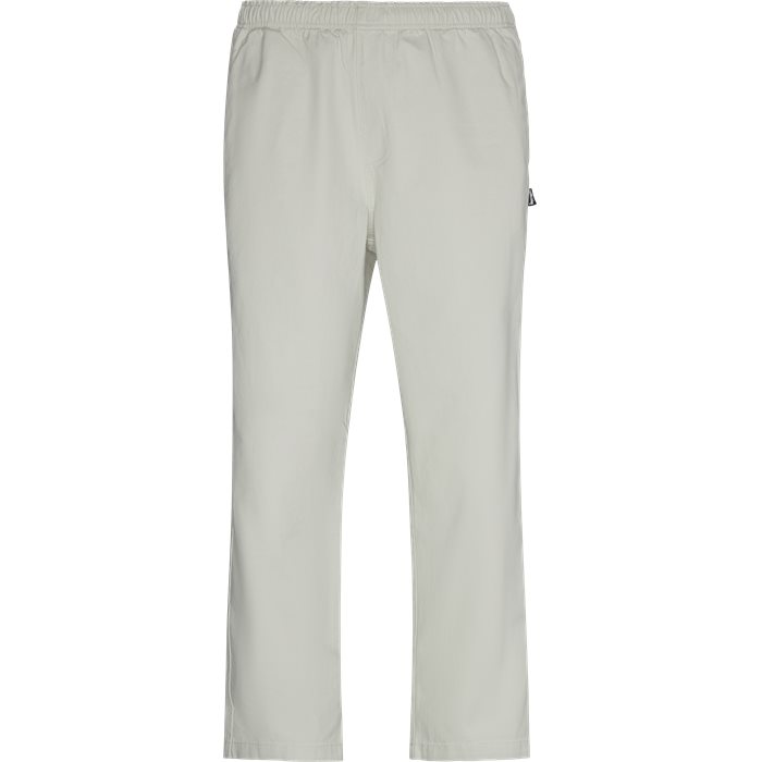 Trousers - Loose - White